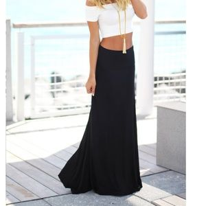 Dresses & Skirts - Black favorite maxi skirt RESTOCKED