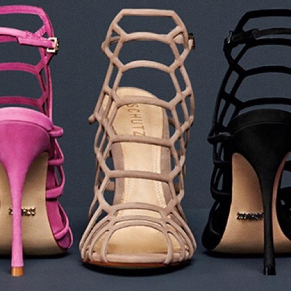 de9467c064 SCHUTZ Shoes | On Hold Juliana High Heel Caged Sandal | Poshmark