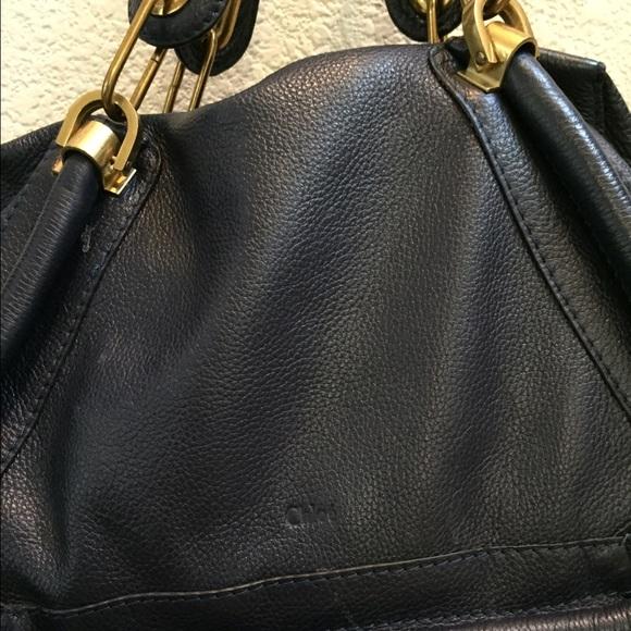 Chloe - Chloe small Paraty bag in navy blue from Al\u0026#39;s closet on ...