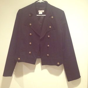 LF Jackets & Blazers - Black double breasted jacket