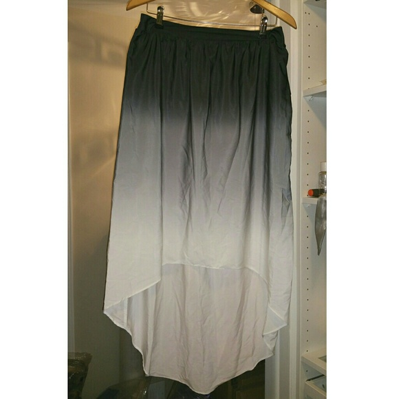 mossimo supply co ombre high low skirt from porsche