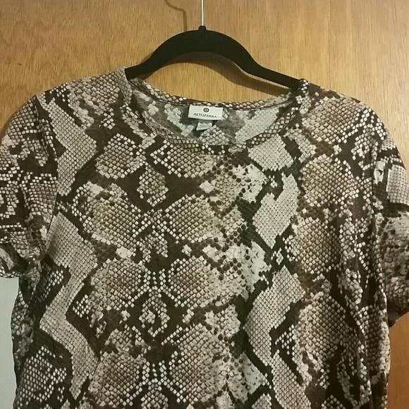 Altuzarra for Target Tops - Altuzarra for Target Python Print Tshirt