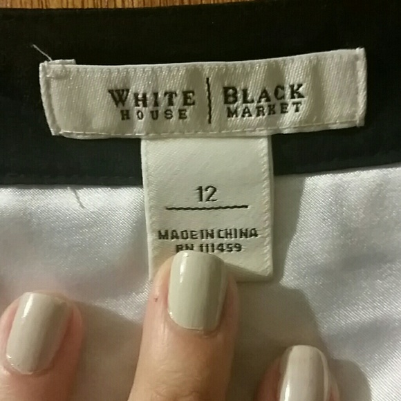 White House Black Market Dresses - Black and White Sleeveless Sack Dress