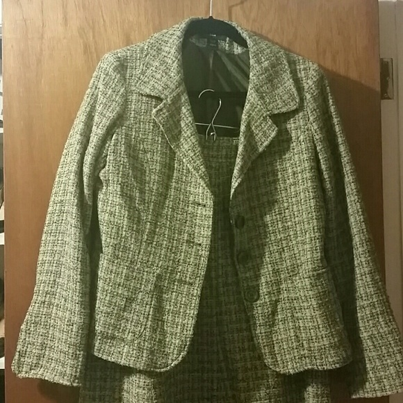 H&M Jackets & Blazers - Inspired Tweed Skirt Suit