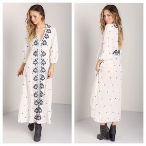 Free people maxi dress S