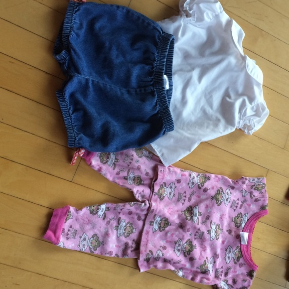 ALL 12 MONTH GIRL BABY CLOTHES 12 MONTH from Phyllis s