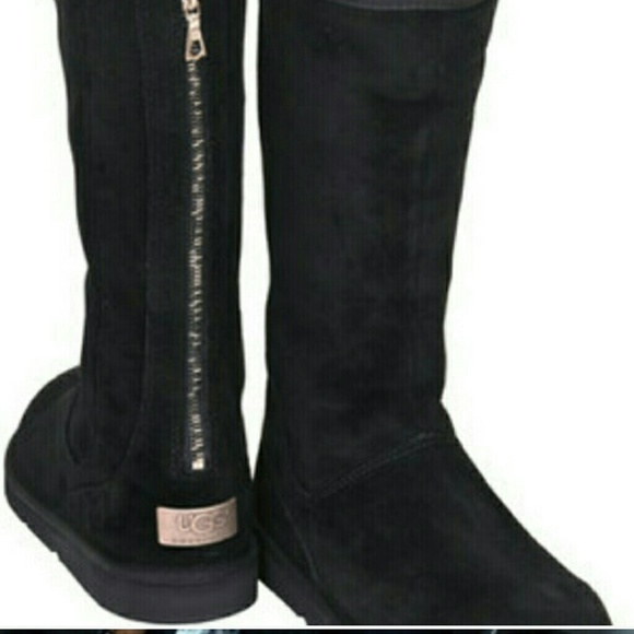71 Off Ugg Boots Ugg Knightsbridge Zipper Back Tall