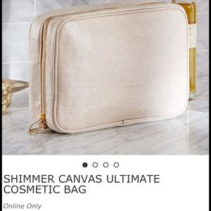 Pottery Barn Ultimate Cosmetic Shimmer Canvas NWOT