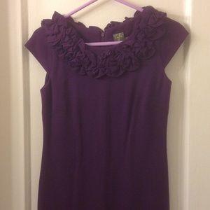 Taylor by Ann Taylor Sheath Dress in Eggplant