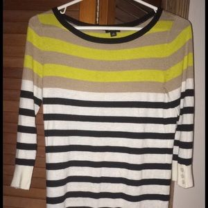 Striped Banana Republic sweater