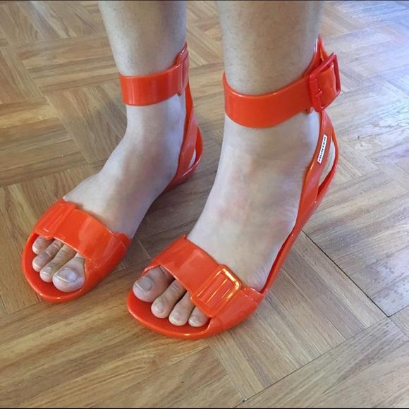 bbc9aecce7b0 Hunter Shoes - GUC jelly sandals