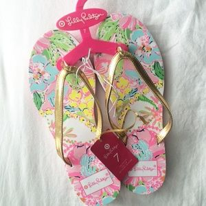 Lilly Pulitzer for Target Sandals