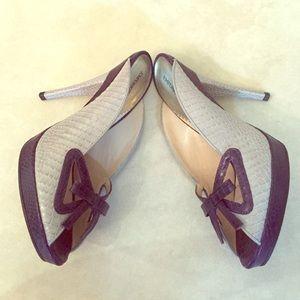 Emporio Armani Bow Heels