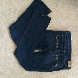 Abercrombie and Fitch skinny bootcut jeans