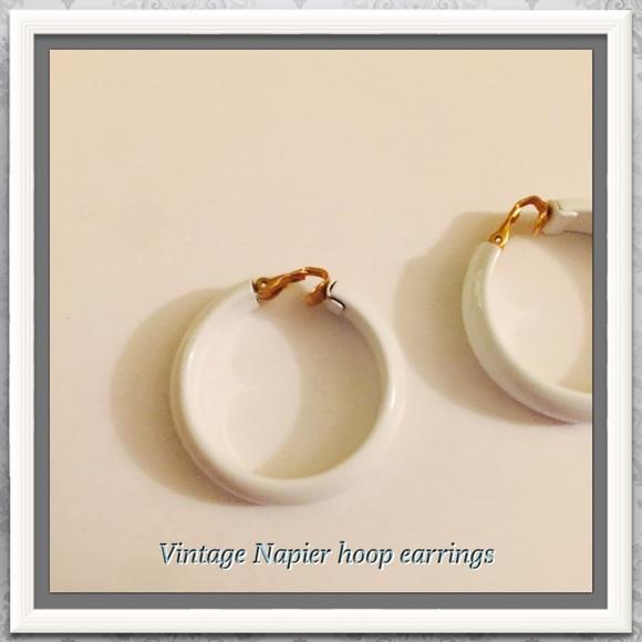 napier black single women Napier necklace - gift for women napier gold and black necklace napier single strand white and goldtone beaded choker necklace.