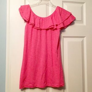 Lilly Pulitzer Morely top, Cosmo pink, size small