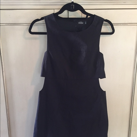 2 piece black dress kate