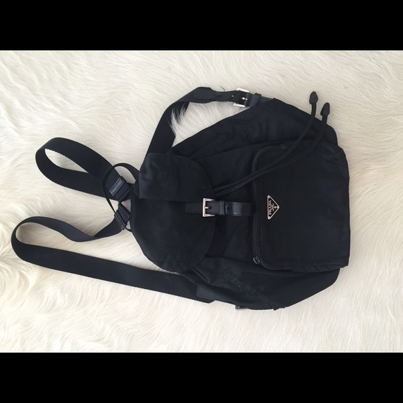 89a10db56bc7 Prada Bags | Vela Small Nylon Backpack | Poshmark