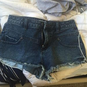 Free people size 25 shorts