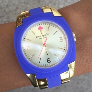 🎉HP🎉Kate Spade Live Colorfully Auth Gold Watch!