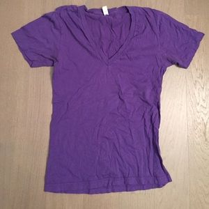 "American apparel v neck ""summer shirt"" size s"