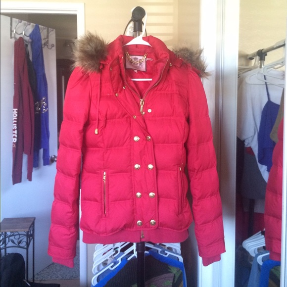 70% off Juicy Couture Jackets & Blazers - Hot pink bubble bomber ...