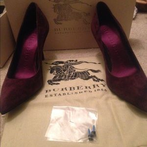 Authentic Burberry heels..brand new
