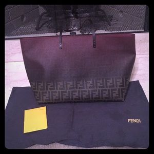 Authentic Fendi Ombré  zucca tote bag