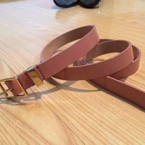 Pink Patent Leather J.Crew Belt