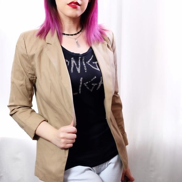 Mossimo Supply Co. Jackets & Coats - 💙SALE❤️ Khaki Blazer
