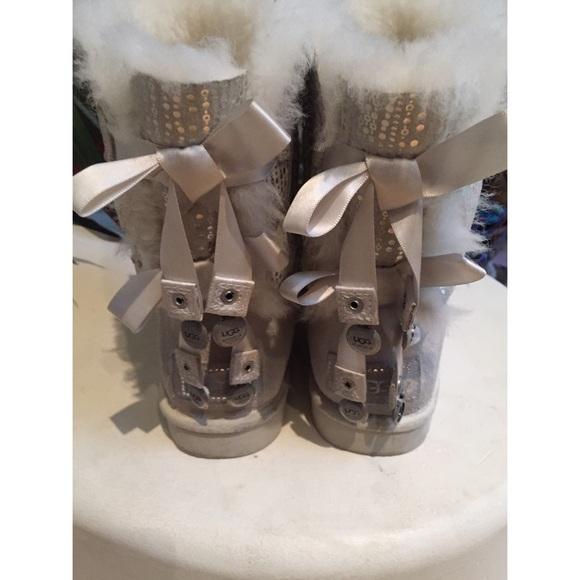 UGG Shoes | Ugg Bailey Bow Bling | Poshmark