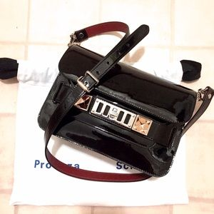 Proenza Schouler Handbags - Proenza Schouler PS11 Patent Leather Classic Mini