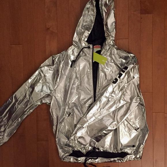 a11835450 Adidas Jackets & Coats | Neo Silver Windbreaker | Poshmark