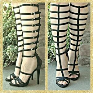 JustFab Shoes - ❤👢 Ophelia gladiator boots sandals.