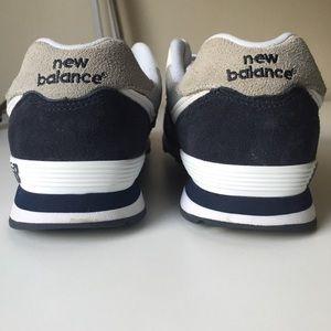 Nuevo Equilibrio Blanco Gris Azul Marino 574 L2truyCi