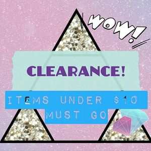 Other - CLEARANCE! 🔥 ALL ITEMS UNDER $10 MUST GO