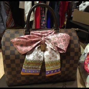 Louis Vuitton 125 Rare Louis Vuitton Silk Bandeau