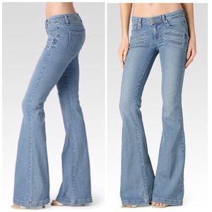 d2cc3d3e24cb8 PAIGE Jeans - Paige Fiona Flare-Paulina Denim Jeans. NWT.