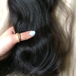 19 hair other black remy hair extensions barely