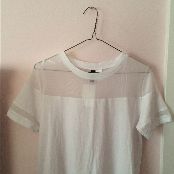 H&m mesh t shirt dress