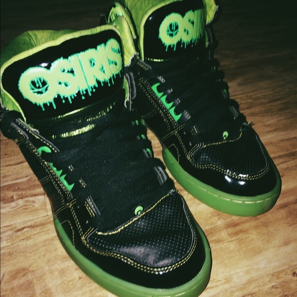 osiris shoes nyc 83 slime skate poshmark