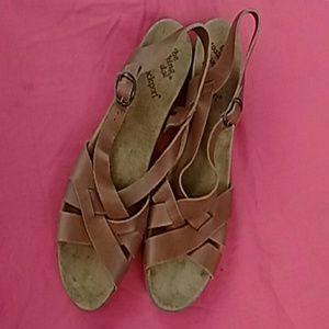 Rockport leather sandals open to offers