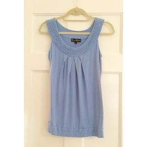 Mercer & Madison - Blue Top, Size Small