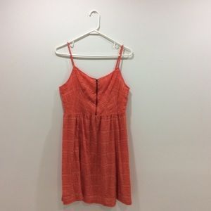 Staring at Stars Dresses & Skirts - Coral Urban Outfitters Summer Dress