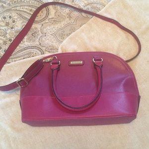 Fuchsia Anne Klein handbag
