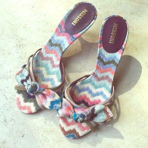 Beautiful Missoni summer shoes