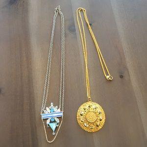 2 Noir necklaces