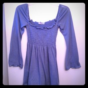 Tops - DONATED! 💨 Slate blue bell-sleeves