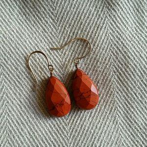 Jewelry - Red Jasper earrings