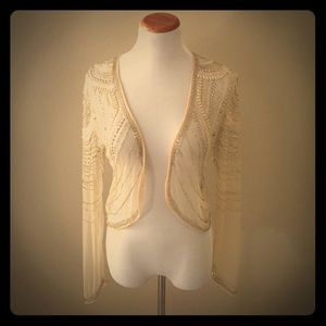 79% off Urban Outfitters Jackets & Blazers - Stunning Gold Beaded ...